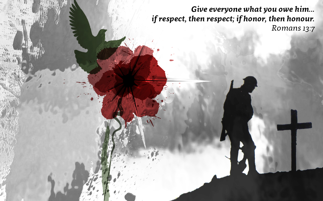 World War remembrance wallpaper