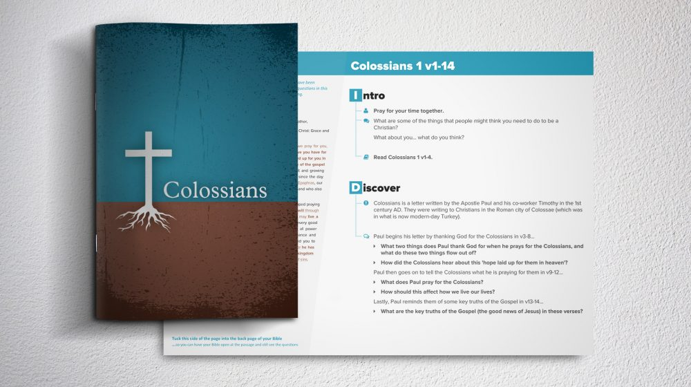Colossians study mockup